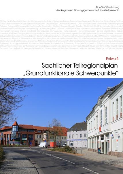 Titelblatt sachlicher Teilregionalplan Grundfunktionale Schwerpunkte
