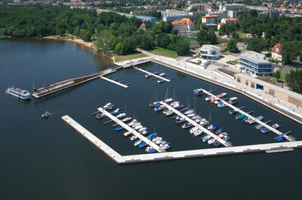 Stadthafen der Stadt Senftenberg (Foto: D.Winkler)