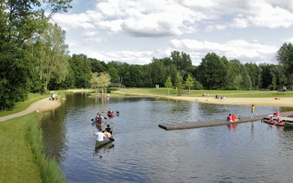 Naturbadestelle Spree Lagune (Foto:lübben.de)