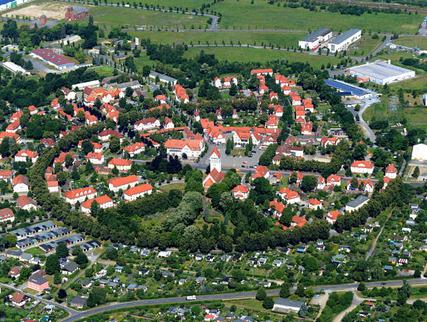 Luftbild Gartenstadt Marga (Foto: Peter Radke | LMBV)