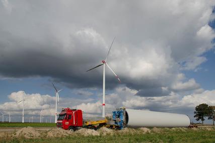 Windpark Duben
