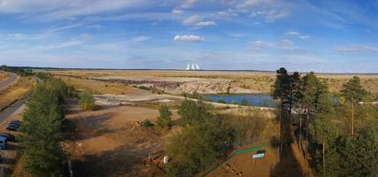 Blick auf den Ostsee vom Aussichtsturm Merzdorf